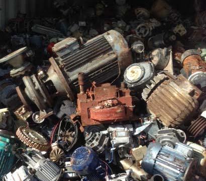 What scrap metal do we buy pick up for We buy electric motors